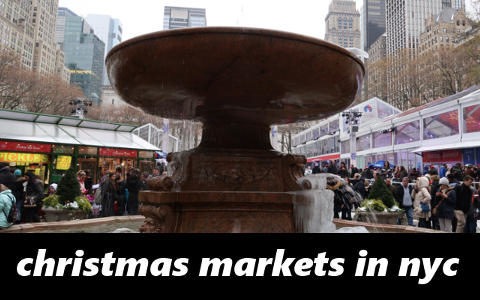 Christmas Market New York City.Christmas Markets In New York City New York Panovoyages